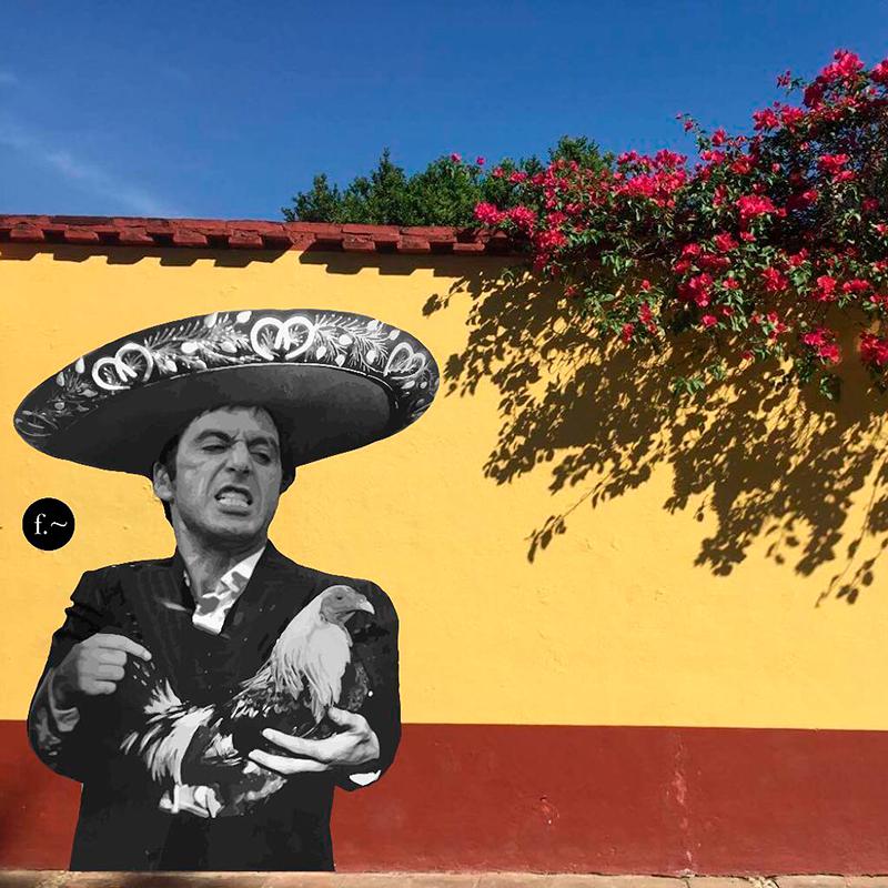 Murales de Froy Padilla