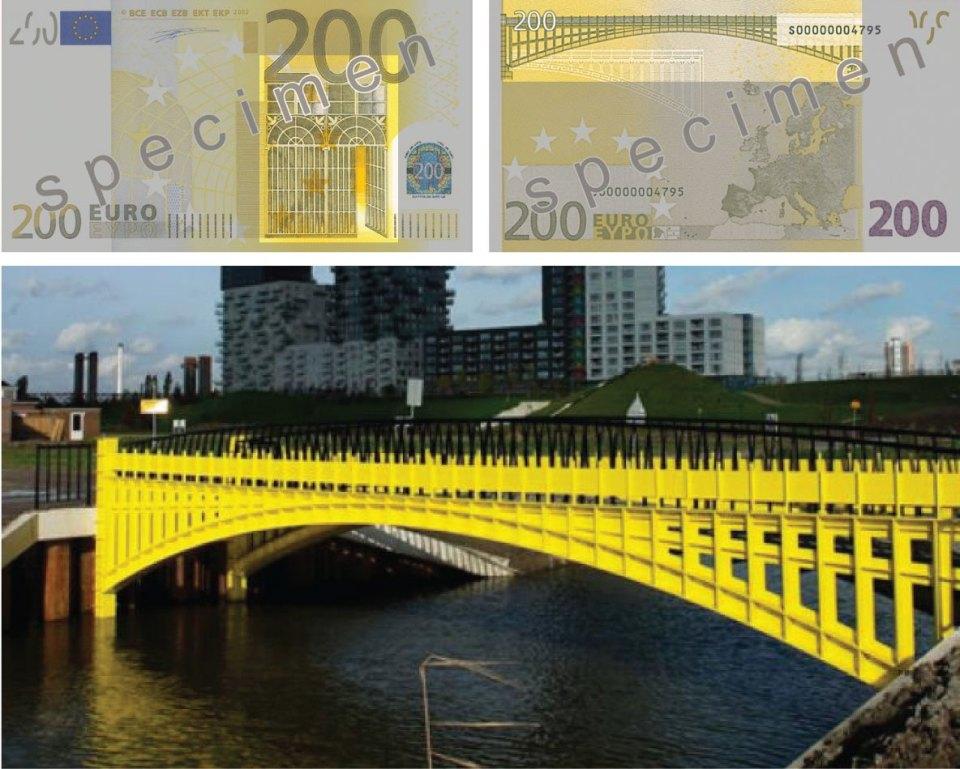Increíble Arquitectura en los Billetes EUROS